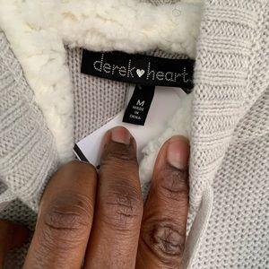 Derek Heart Sweaters - Women long sleeved hoodie